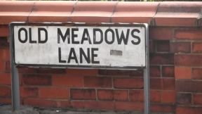 Old Meadows Lane where John Gretrix was murdered in 1819