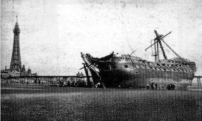 HMS_Foudroyant_wreck